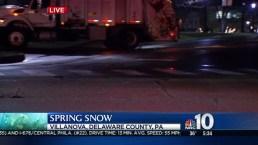 Light Spring Snow Falls in Parts of Region