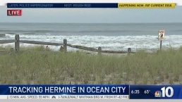OCNJ Bans Beach Swimming as Hermine Kicks Up Currents