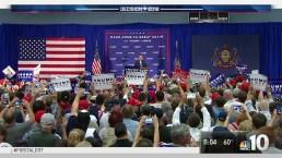 Trump Rallies Voters in Bucks County