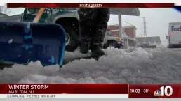 Wet, Slushy Streets in South Jersey
