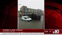 Jersey Shore Deals With Flooding
