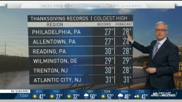 Historically Cold Thanksgiving Possible