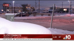 Slick Morning Commute in South Jersey