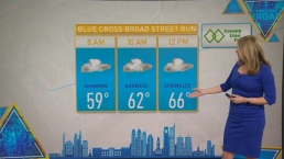 NBC10 First Alert Weather: Rain Expected for Broad Street Run