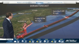 Dorian Expected to Brush Past Delaware, New Jersey