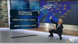 Catching a Glimpse of the International Space Station in the Sky Has Bill Henley Excited