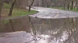 Flooding Closes MLK Drive in Fairmount Park