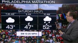 What's the Forecast for the Philly Marathon Races?