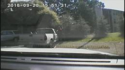 Watch Police Dashcam Video From Keith Scott Shooting
