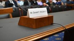 McGahn Is No-Show at Congressional Hearing