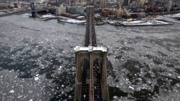 12 Stunning Aerial Photographs of Frozen NYC
