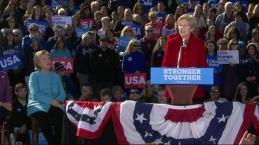 Warren to Trump 'Nasty Women' Vote