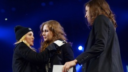 Madonna, Pussy Riot Speak at Human Rights Concert
