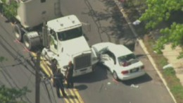 Student Hurt in Truck Crash Outside School