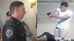 Gunman Aims at Officer Who Survived '16 Shooting, Police Say