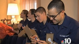 Coast Guard Recruits Get Homes for the Holidays