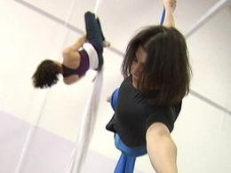 Aerial Silks Workout