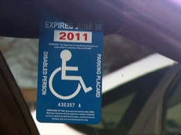 New Rules for Handicap Placards