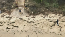 Calif. Beach Evacuated After Military Device Washes Ashore