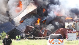 Injuries Reported in Fiery Texas Train Crash