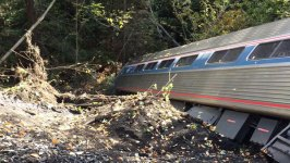 Amtrak Train Derails in Vermont; at Least 7 Hurt