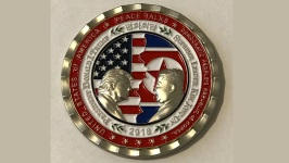 WH Under Fire for Coin With 'Supreme Leader' Kim Jong Un