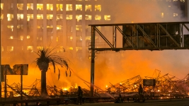 "Police Arrest Suspect in ""Devastating"" 2014 LA Fire"