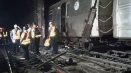 Human Error Blamed for Manhattan Subway Derailment