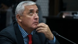 Guatemalan President Detained in Corruption Probe