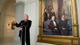 Painter Nelson Shanks Dies at 77