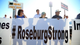 Obama in Roseburg: 'Today Is About the Families'