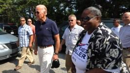 Biden Makes Surprise Visit to Del. Democrats' Gathering