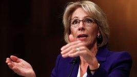 DeVos: Schools Might Need Guns Due to 'Potential Grizzlies'