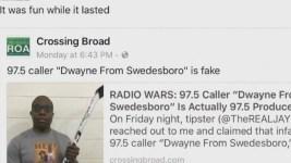 Fake Black Radio Caller Sparks Controversy