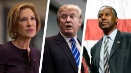 Poll: Trump's Lead Narrows as Fiorina, Carson Close In