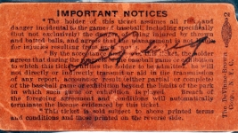 Signed Ticket From Gehrig's Final Game Nets $95K