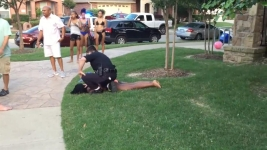 Black Teen Manhandled By Texas Cop at Pool Party Settles for $150K