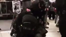 Officers Swarm, Arrest Candy Vendor in NYC Subway Station