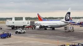 Flight Canceled After Plane's Wheel Gets Stuck in Pothole