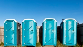 Wanted Woman Found Inside Portable Toilet, Arrested