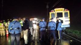 2 Dead, Several Hurt After Car, School Bus Collide
