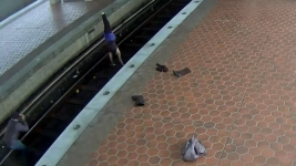 Woman Arrested For Doing Yoga on Metro Tracks