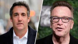 Tom Arnold, With Michael Cohen, Says He 'Has All the Tapes'