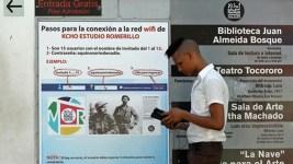 Cuba Launches First Public Wi-Fi Hotspots on Havana Avenue