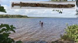 Girl, 8, on Pulling Sword From Lake: 'I Felt Like a Warrior'