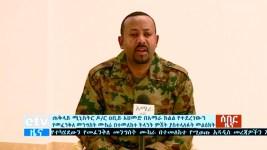 Ethiopia Says Military Chief Killed, Regional Coup Failed