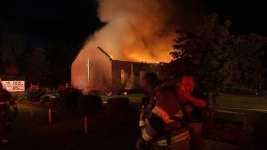 Weather Blamed for Fire at S.C. Church