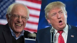 Trump, Sanders Dominate Polls as Race Moves to New Hampshire