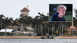 Hundreds Mark Hurricane Maria Anniversary Near Trump Resort
