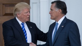 Trump Endorses Romney for Senate Bid in Utah